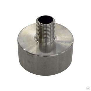 Переходник алюминиевый Ø 62 - 1/2 (15мм) - Для Еврокуба 1000л