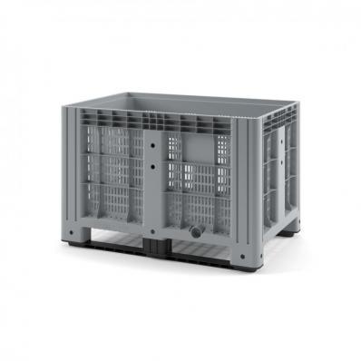 Контейнер IBOX 1200х800х800 перфорированный на полозьях