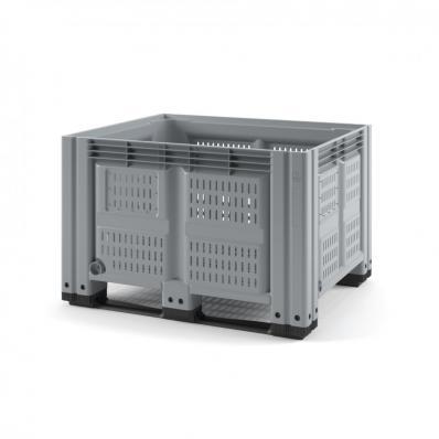Контейнер IBOX 1200х1000х760 перфорированный на полозьях